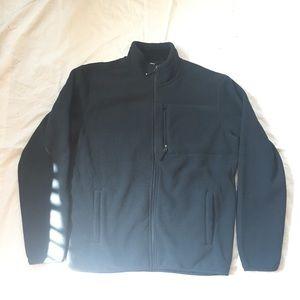 Large 32 degree Heat Navy fleece full zip jacket